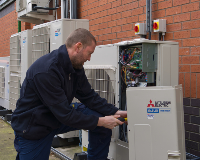 booth air conditioning manchester
